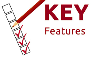 Key feature checklist