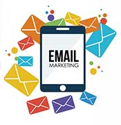 ipad with email marketing