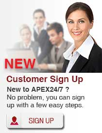 New Customer Sign up