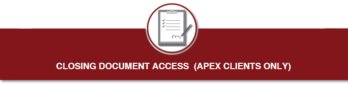 Closing Document Access